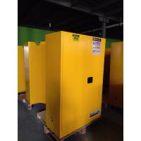 Quality Durable Metal Flammable Liquid Storage Containers 45 GAL With Double Layer for sale