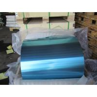 Wholesale Blue / Golden Epoxy Coated Aluminum Foil 0.18MM Width In Heat Exchanger from china suppliers