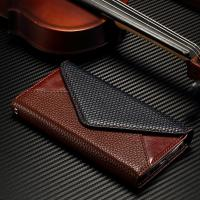 Quality Snake Pattern S7 Edge Samsung Leather Wallet Case No Scratch Three Card Slots for sale