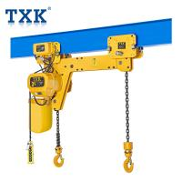 Wholesale Full Certificate Double Hook Electric Chain Hoist , Traveling Type 1.5 Ton Hoisting Equipment  from china suppliers