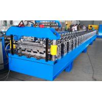 China Metal Roof Deck Panel Roll Forming Machine on sale
