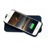 Quality Wireless Power Charger Iphone Leather Case for Iphone 6 4.7 and Iphone 6 Plus for sale