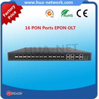 1U Metal Black BDCOM OLT 16 PON Ports 10G EPON/GEPON Layer 3 OLT with free NMS at competitive price