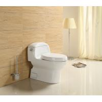 Wholesale  Factory China Wc Sanitary Ware Ceramic s trap Bathroom TOTO One Piece Toilet bowl with slow down seat cover from china suppliers