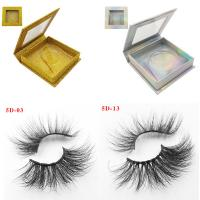 Wholesale High Quality Own Brand Private Label 100% Real Mink Lashes 3d Mink Eyelashes from china suppliers