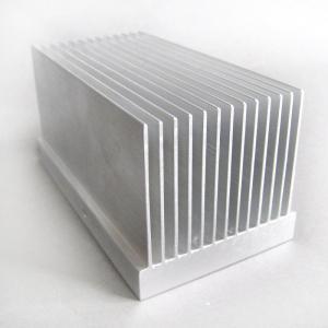 China 55mm Width Aa6063 Aluminium Extrusion Profiles Radiator , Extruded Aluminum Heatsink on sale