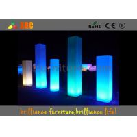 Wholesale Waterproof LED Pillar For Events Decorations , Glowing Flower Vase from china suppliers