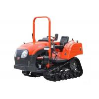 Wholesale New Small Rubber Triangular Farm Crawler Tractor 60HP for Green House Orchard from china suppliers