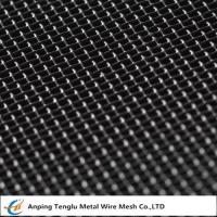 Wholesale Mild Steel Wire Mesh|Square Hole Woven Mesh Known as Black Cloth from china suppliers