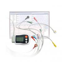 Buy cheap ECG Ambulatory Monitor Pocket White Recoder With LCD Support 12-Channel and 3 from wholesalers