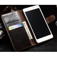 Wholesale PU Leather Wallet Cell Phone Covers With Card Slots For samsung galalxy Note 4 from china suppliers