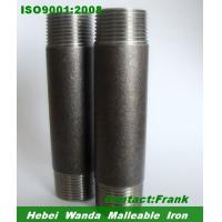 Buy cheap Black Seamless steel pipe Nipples SCH40,SCH80 NPT thread from wholesalers