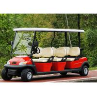 Wholesale Popular Outdoor 6 Seater Golf Cart With Aluminum Rim , 48V Battery Voltage from china suppliers