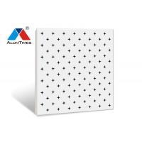 Wholesale Square Perforated Aluminum Ceiling Panels 600×600mm For Office Decoration from china suppliers