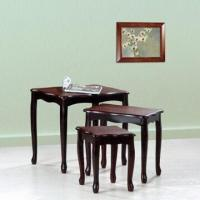 Wholesale Conslole tables, made of solid wood and MDF board from china suppliers