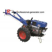 Wholesale High Capability Farm Machinery 12HP Mini Hand Walking Tractor , Reaper Plough Mower Optional from china suppliers