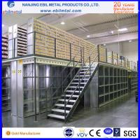 Buy cheap CE / ISO Manufacturer Steel Mezzanine Racking / Storage Racking 2-3 Layers Steel Floor from Wholesalers