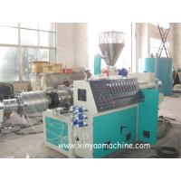 Wholesale Electric PVC Pipe Extrusion Machine With DTC Spiral feeding machine from china suppliers