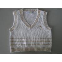 Wholesale Baby′s Knitted Vest, Cotton Sweater (SFY-A046) from china suppliers