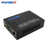 Wholesale Sfp Fiber Media Converter TX RJ45 To FX SFP IEEE 802.3 Compliant from china suppliers