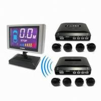 China Wireless Auto Parking Sensors Show distance by VFD display on sale