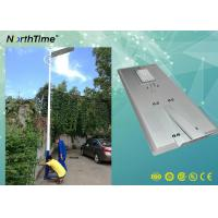 Wholesale 80Watt Smart Phone APP Control LED Smart Solar Street Light With PIR For Bus Station from china suppliers