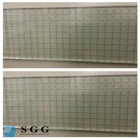 Wholesale Excellence quality Safety Building 6mm clear wired glass prices from china suppliers