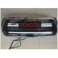 Wholesale Chrome Front Grill Mesh For 2018 Toyota Hilux Revo Rocco With LED Turning Lights from china suppliers