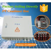 Buy cheap IP65 Convergence Solar PV Combiner Box from Wholesalers