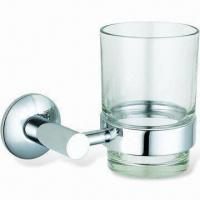 Wholesale Cup Holder, Made of Brass, Suitable for Bathroom from china suppliers