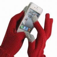 Wholesale Touch Gloves for iPhone , Measures 24x9cm from china suppliers