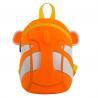 Girls Zipper School Backpack Bag ClownFish Shape , Kids School Backpack