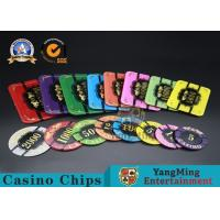Wholesale Square Crystal Acrylic Poker Chips With Custom Logo / Super Touch Texture Poker Plaque from china suppliers