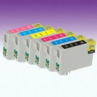 Wholesale 18.2mL Inkjet Cartridge, Compatible with Epson Printers, Various Colors are Available from china suppliers