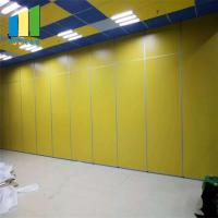 Wholesale Banquet Hall Folding Door Partitions Restaurant Movable Sound Proof Partitions from china suppliers