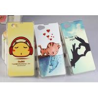 Wholesale PC ( Glaze) + TPU Frame Sony Cell Phone Cases For Sony Xperia Z1 MINI from china suppliers