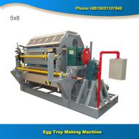 China Paper recycling machine full automatic equipment for production of egg trays on sale