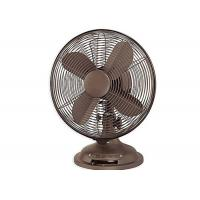 Buy cheap Retro Electric Table Fan 4 metal blade 85 Degree Oscillation ETL Listed from wholesalers