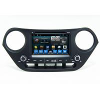 China Quad Core Car GPS Navigation System Hyundai I10 Android Player on sale