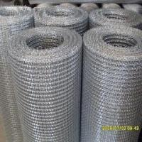 China fine stainless steel wire mesh food grade stainless steel wire crimped wire mesh on sale