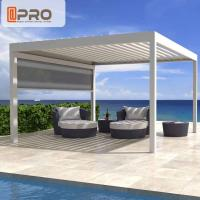 Wholesale Waterproof Aluminum Patio Pergola , Square Adjustable Stand Alone Pergola from china suppliers