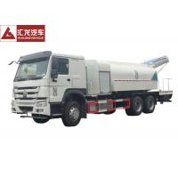 Wholesale Fast Spraying Stainless Steel Water Truck , Remote Control Construction Water Truck Water Saving from china suppliers