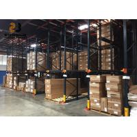 Wholesale 500-2000kg Per Layer Drive In Pallet Racking Galvanization Easy Assemble Pallet Rack Dividers from china suppliers