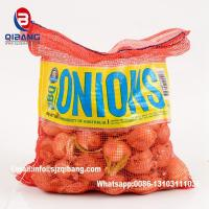 Wholesale PP tubular plastic mesh bag onion raschel sack packing mesh bags vegetable net bag / Potato Garlic Fruit Orange Firewood from china suppliers