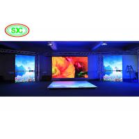 China Full color indoor rental led display with HD resoluation for stage show on sale