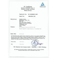 VALES & HILLS Biomedical Tech. Ltd. Certifications