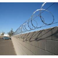 China stainless steel CBT65 razor wire on sale