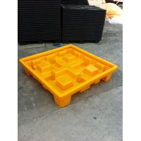 Quality IBC Chemical Spill Containment Trays , 4 IBC Tank Safety Storage Spill Deck And for sale
