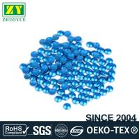 Wholesale Dresses Blue Dome Studs , Shiny Fixing Press Studs Environmentally Friendly from china suppliers