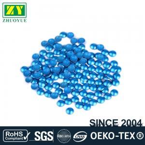 Dresses Blue Dome Studs , Shiny Fixing Press Studs Environmentally Friendly